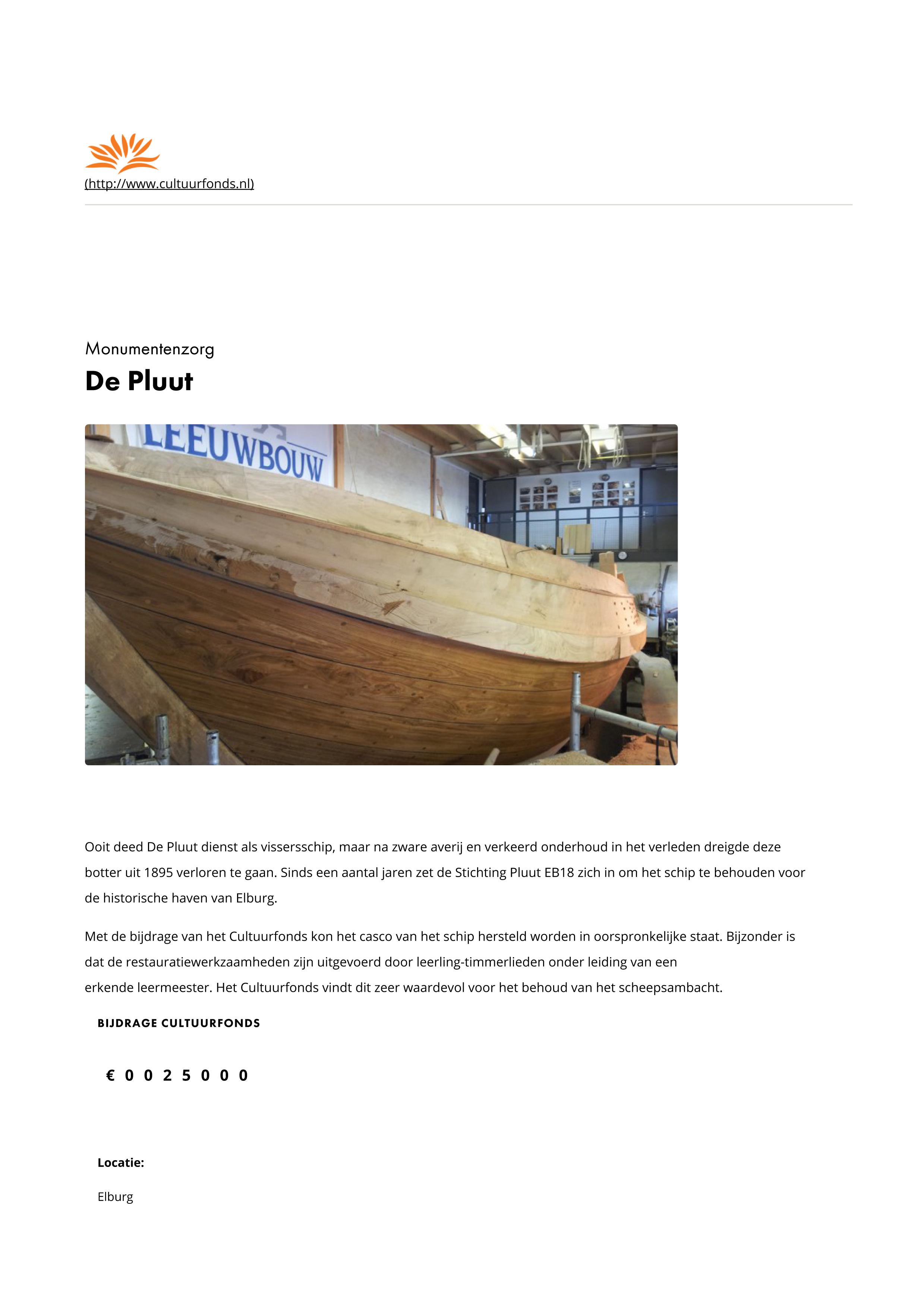 De Pluut - Prins Bernhard Cultuurfonds-1